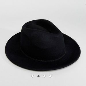 419fd2ed ASOS Accessories | Black Panama Hat | Poshmark